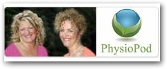 Mary Fickling and Julie Soroczyn, Directors of PhysioPod UK Limited, Exclusive Distributors for DEEP OSCILLATION for the UK and The Republic of Ireland  » Click to zoom ->