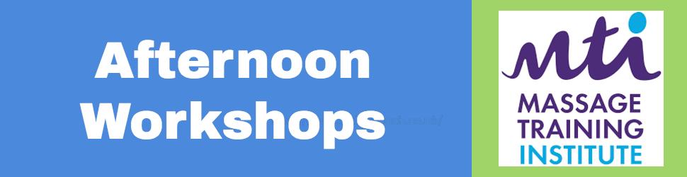 afternoon workshops